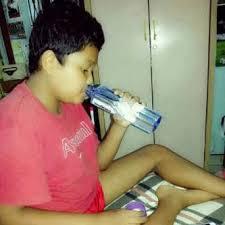 minum air milagros