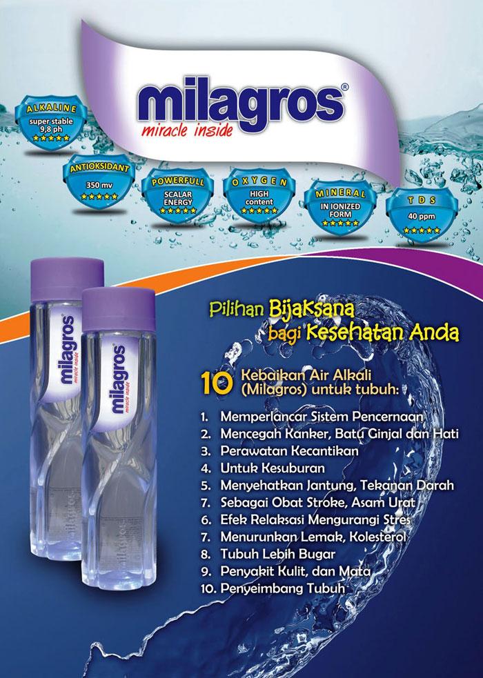 Air Alkali atau Air Basa air Milagros