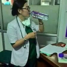 dokter minum milagros