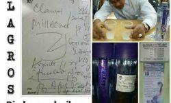 Kesaksian Air Milagros Diresepkan Dokter
