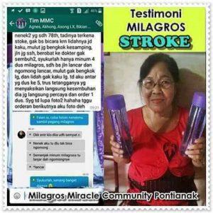 testimoni stroke Milagros 1