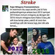 testimoni stroke Milagros 2