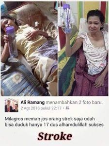 testimoni stroke Milagros 6