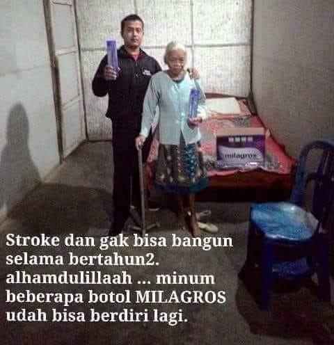 testimoni stroke Milagros 7